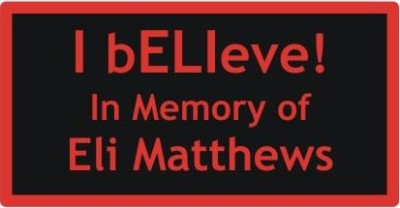 Eli's memorial patch