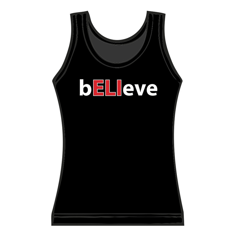 Ladies bELIeve Tank Top